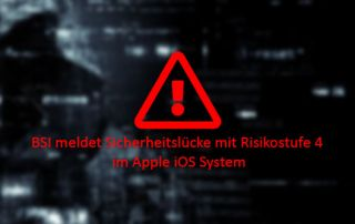 Apple iOs Risiko